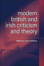 Wolfreys-Modern British And Irish Criticism And Theory  BOOK NEW
