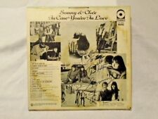 Sonny & Cher In Case You're In Love ATCO MONO 33-203 AUTOGRAPHED AUDITION RECORD