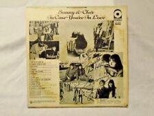 AUTOGRAPHED PROMO Vinyl LP Sonny & Cher In Case You're In Love ATCO MONO EX