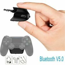 Bluetooth Wireless Audio Microphone Headset Adapter Receiver For PS4 Controller
