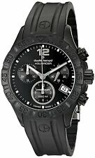 Claude Bernard Aquarider Women's Black Chronograph Swiss Watch 10209 37N NIN