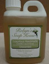 Handmade Castile Liquid Soap - 1 Litre
