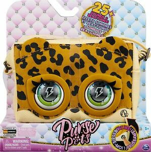 Purse Pets leoluxe leopard Interactive with Over 25 Sounds and Reactions NEW