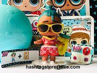 LOL Surprise BOYS LUAU HAWAII SUN BAMBOLA DOLL GOLD ORO CONFETTI POP SPARKLE OMG