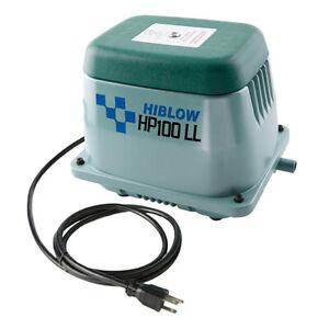 HIBLOW HP-100LL AIR PUMP, AERATION, SEPTIC, KOI POND - NEW