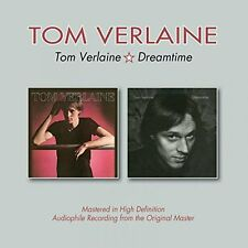 TOM VERLAINE Tom Verlaine + Dreamtime CD Ristampa HD Audiophile NEW .cp