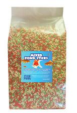 More details for floating mixed pond sticks 40l - koi, goldfish fish food, 40 litre, sack 3kg bag