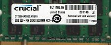 NEW 2GB Acer Aspire One KAV60 / ZG8 NetBook/Laptop/Notebook DDR2 RAM Memory