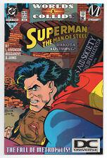 SUPERMAN: THE MAN OF STEEL #35 | DC Universe Logo Variant | RARE | 1994 | VF+