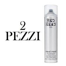 Tigi bed head Hairspray Hard Head Hair Spray 385ml x 2 pezzi