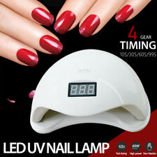 Sun5 48w LED UV Nail Lamp Light GEL Polish Dryer Manicure Art Curing AU Plug