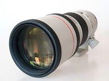 Canon EF 300mm f / 4L USM (sin estabilizador)