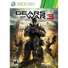 NEW FACTORY SEALED! GEARS OF WAR 3  (Xbox 360, 2011)