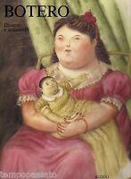 FERNANDO BOTERO. Disegni e acquerelli - SULLIVAN EDWARD - RIZZOLI 1992