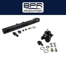 AEM High Volume Fuel Rail + Adj Pressure Regulator for Civic Del Sol B16A2 B16A3