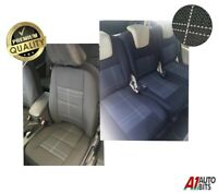 Black 5x High Quality Oem Fabric Full Set Seat Covers For 5 Seater Vw Touran