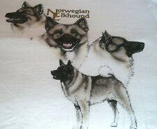 "Norwegian Elkhound T-shirt "" Natural "" Sm ( 34 - 36 )"
