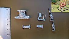 GNOMES /  SNAIL BATTLEWAGON / 1   X  METAL 15MM FIGS /S.L.M.