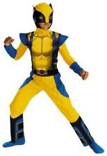 Marvel Boys Wolverine Muscle Chest Halloween Costume