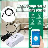 Sonoff TH16 Temperatur und Feuchtigkeit Überwachung Wifi App Smart Schalter 10A/