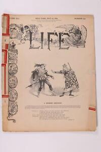 Vintage Life Magazine New York May 23 1889 Calligraph Typewriter Advertising