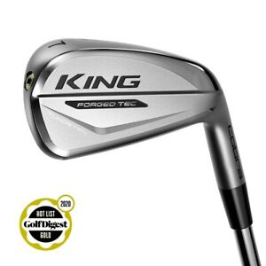 Cobra KING Forged Tech Irons, 4-pw, Steel Shaft, Brand New