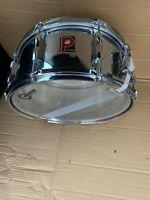"Free P&P. A 14x6"" Vintage Premier Snare Drum. Chrome Finish. SD011185"