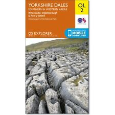 OS Explorer OL2: Yorkshire Dales - Southern & Western Areas,