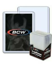 BCW Hard Plastic Baseball Trading Card Topload Holders standard 59 79 138pt 360