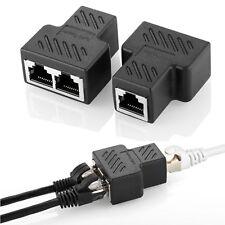 Rj45 Adattatore Splitter Ripartitore 8p8c Lan Ethernet Cavo di rete Cavo cat5 cat6