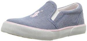 Polo Ralph Lauren Kids Girls Bal Harbour II Sneaker- Pick SZ/Color.