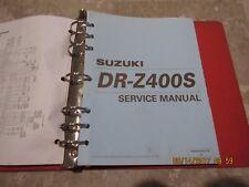 GENUINE SUZUKI DR Z 400 s SERVICE REPAIR MANUAL SHOP MANUAL