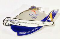 ANSETT AUSTRALIA 1000 DAYS TO GO SYDNEY OLYMPIC GAMES 2000 PIN BADGE #446