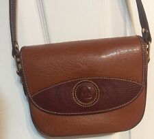 Vintage Andantini Brown leather purse with strap in excellent condition