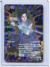 NARUTO JAPANESE card carte Miracle Battle carddass Super Omega 28 Sasuke