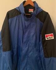 Vintage Marlboro Unlimited rain wind coat jacket gear lightweight logo patch XL