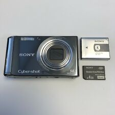 Sony Cyber-Shot Digital Camera DSC-W370 - Black