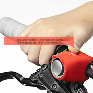 Bike Cycling 120db Electric Horn Rainproof MTB Bicycle Handlebar Ring Bell New
