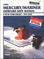 CLYMER B710 MANUAL MERC MARNR 4-STROKE OB 95-00