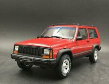 JEEP CHEROKEE 2.5 EFI 1995 ROUGE GT SPIRIT OT738 1/18 FLAME RED RESINE 999 PIECE