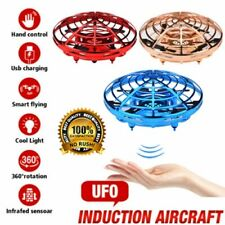 360° Mini Drone Smart Ufo Aircraft for Kids Flying Toys Rc Hand Control Xmas Hk