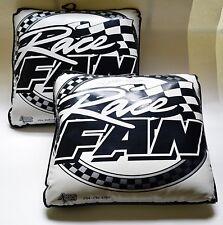 Richard Petty Autographed Race Fan Vinyl Seat Cushion With Matching Cushion