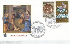 2004 - TIMBRE SUR ENVELOPPE FDC 1°JOUR**VATICAN-PAPE JEAN-PAUL II-SANTO.NATALE