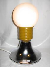 LAMPE DESIGN 1970 EN VERRE A VIS / PIED CHROME N°64