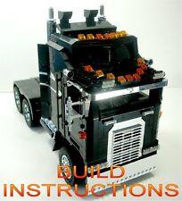 Lego Technic Creator Model Team Kenworth Truck INSTRUCTIONS 5571 5563 8466 10182