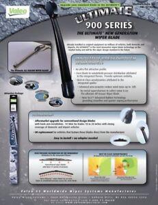 """Valeo 900-21-9B Flat Wiper Blade  21"""" TOP LOCK"""