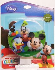 NEW Disney Mickey Mouse Clubhouse Night Light Nite Lite Donald Duck and Goofy