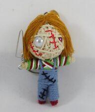 Horror Doll Film Chucky Voodoo Keychain Key Ring Toy Handmade Handcraft Spirit