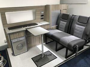 VW Transporter T5 T6 SWB Furniture Camper Units Kitchen - Assembled & Delivered