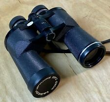Tasco Wide Angle and Rubber 2023BRZ 10x50MM Binoculars, Black, with Case